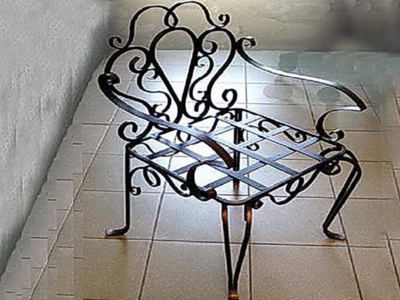 Кованые стулья N 10707