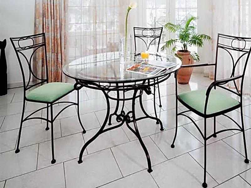 Кованые стулья N 10708