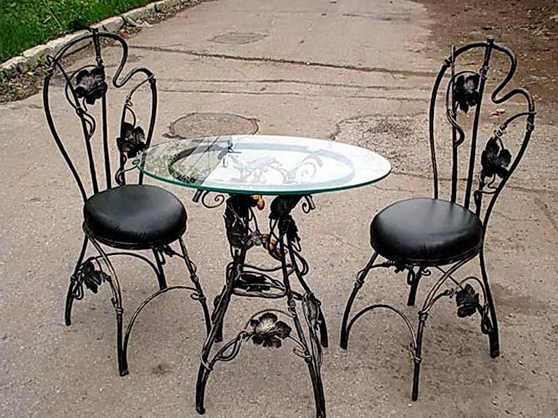 Кованые стулья N 10709