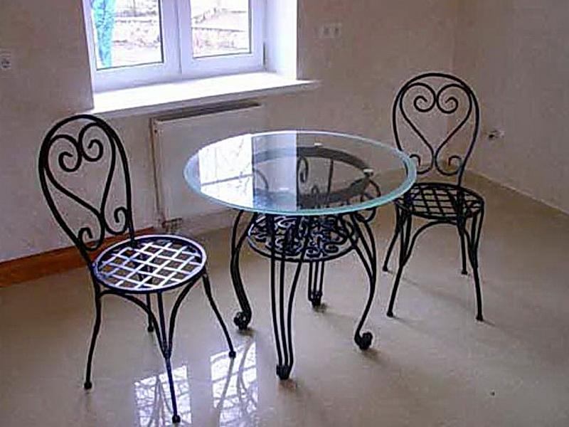 Кованые стулья N 10710