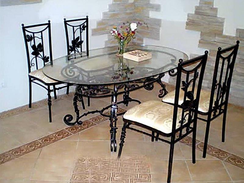 Кованые стулья N 10711