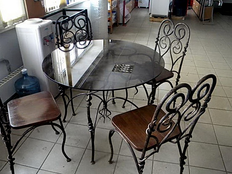Кованые стулья N 10712