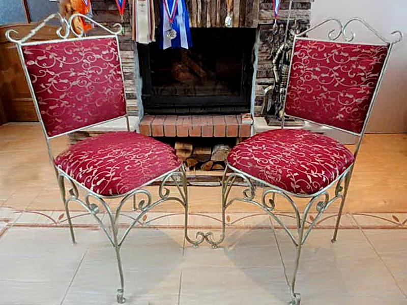 Кованые стулья N 10713