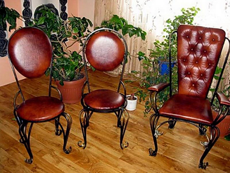 Кованые стулья N 10714
