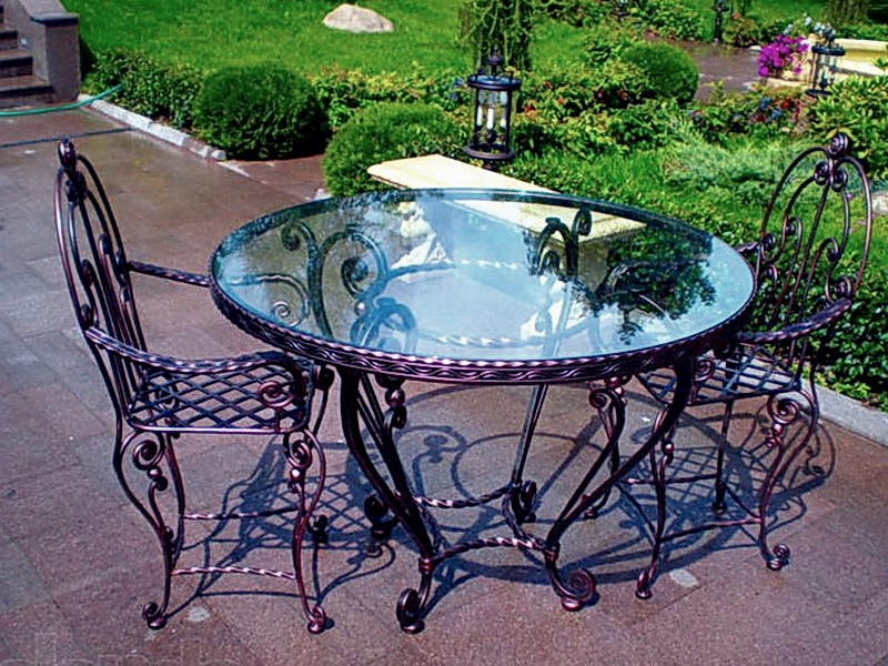 Кованые стулья N 10715