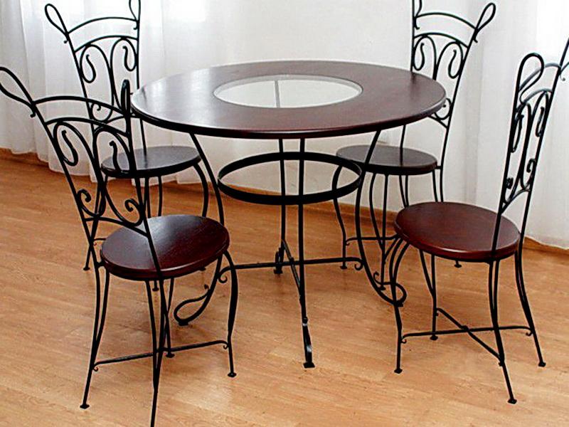 Кованые стулья N 10716