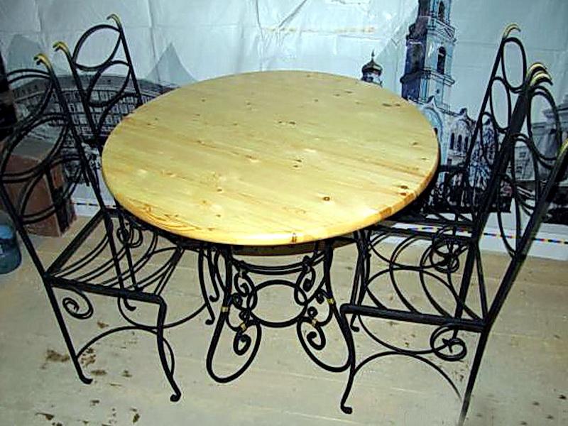 Кованые стулья N 10719