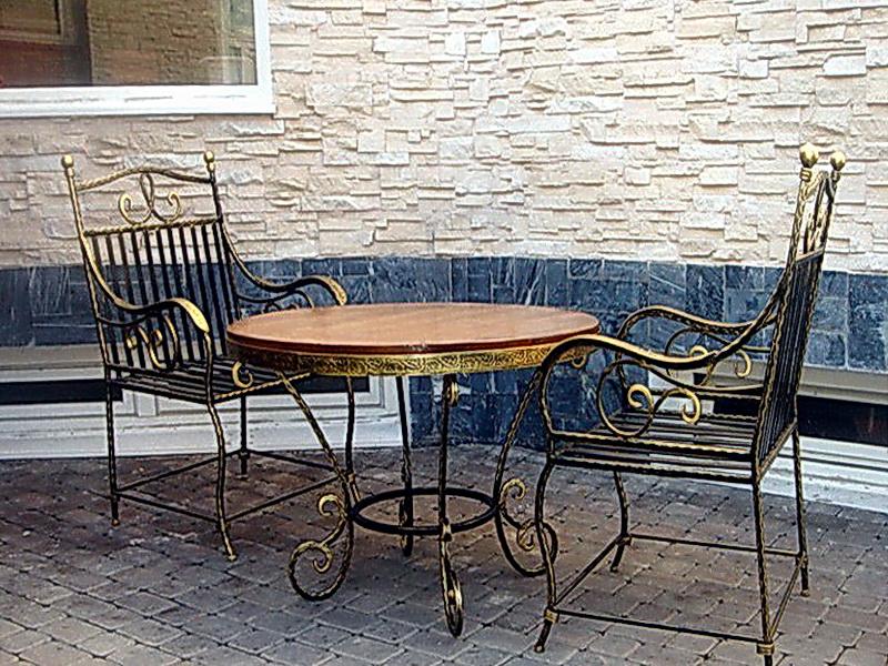 Кованые стулья N 10720
