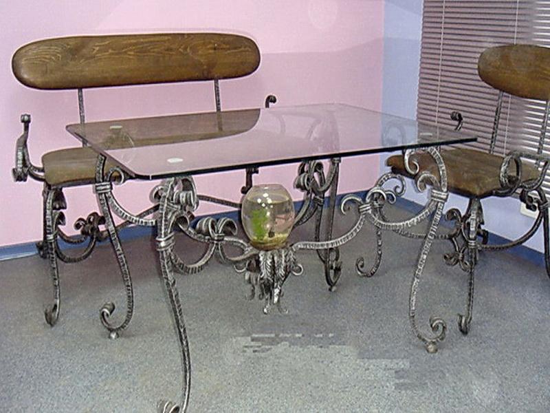 Кованые стулья N 10722
