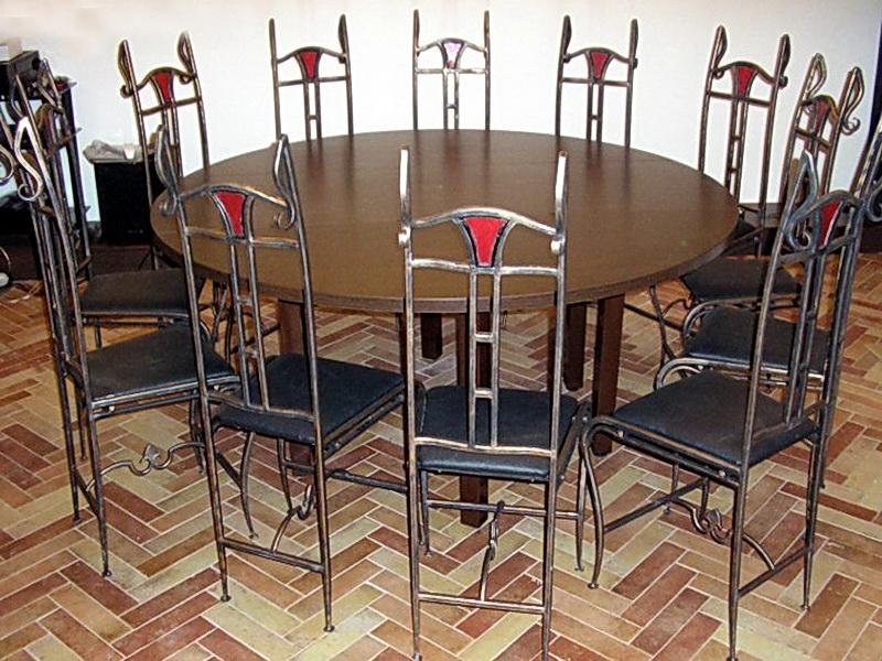 Кованые стулья N 10723