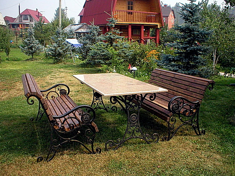 Кованые стулья N 10727