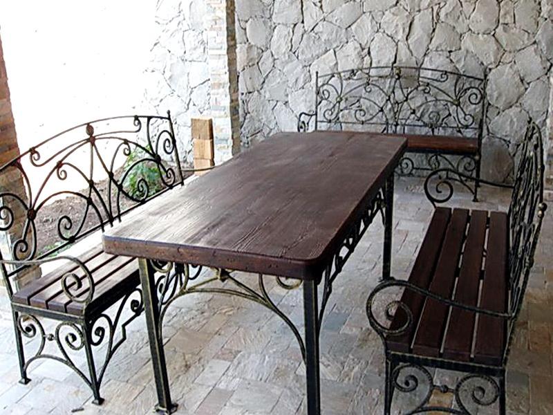 Кованые стулья N 10728