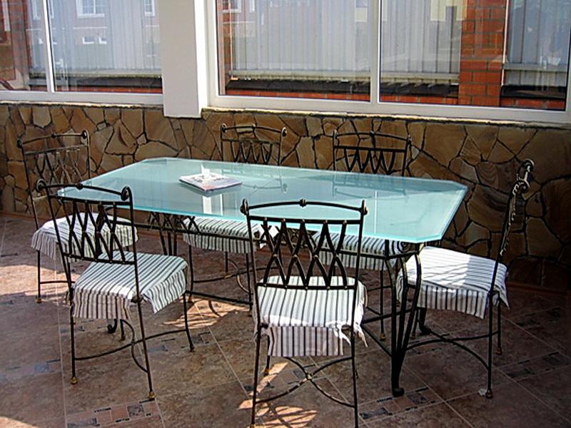 Кованые стулья N 10730