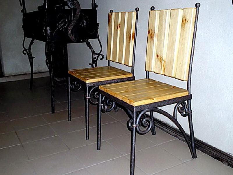 Кованые стулья N 10734