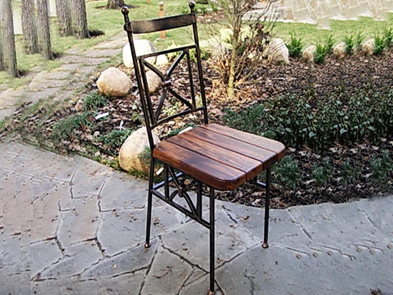 Кованые стулья N 10736