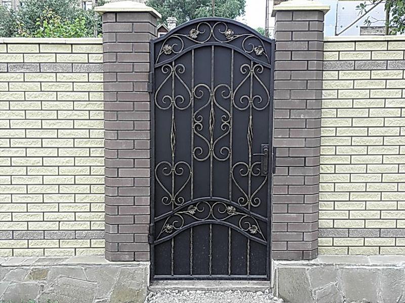 Кованая входная дверь N 2002