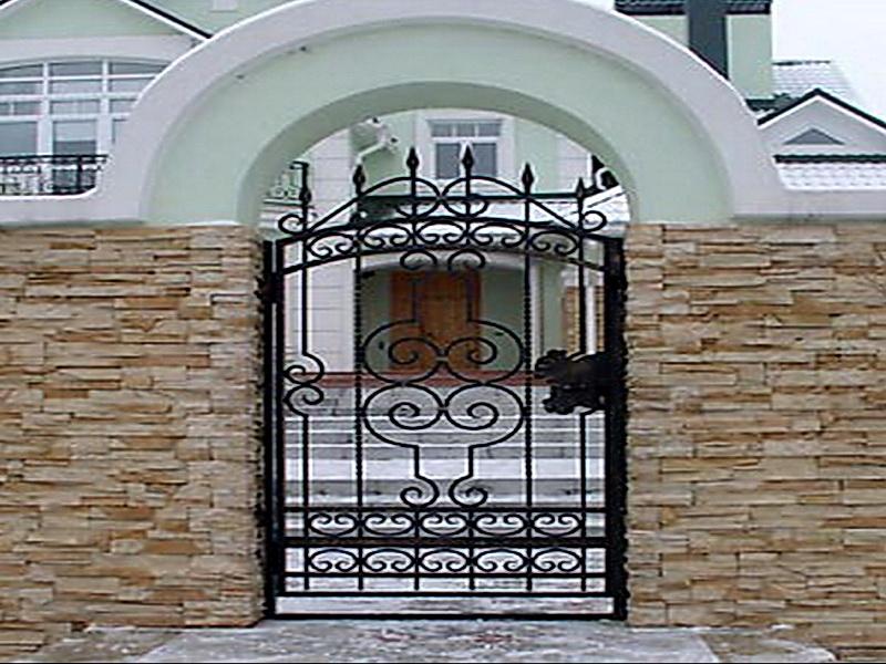 Кованая входная дверь N 2003
