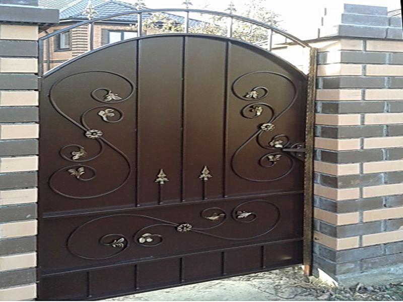 Кованая входная дверь N 2007