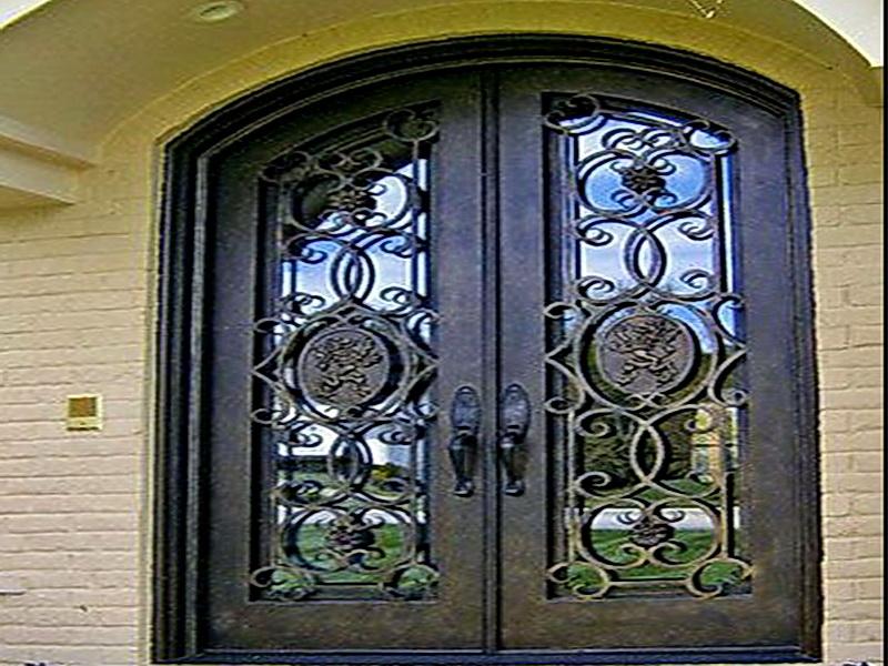 Кованая входная дверь N 2008