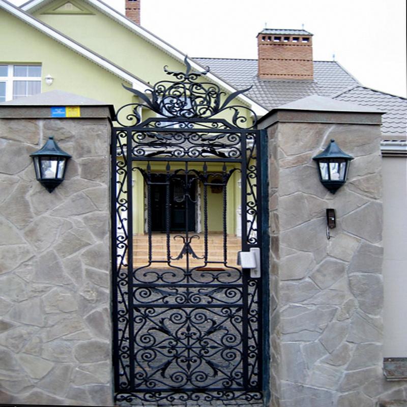 Кованая входная дверь N 2010