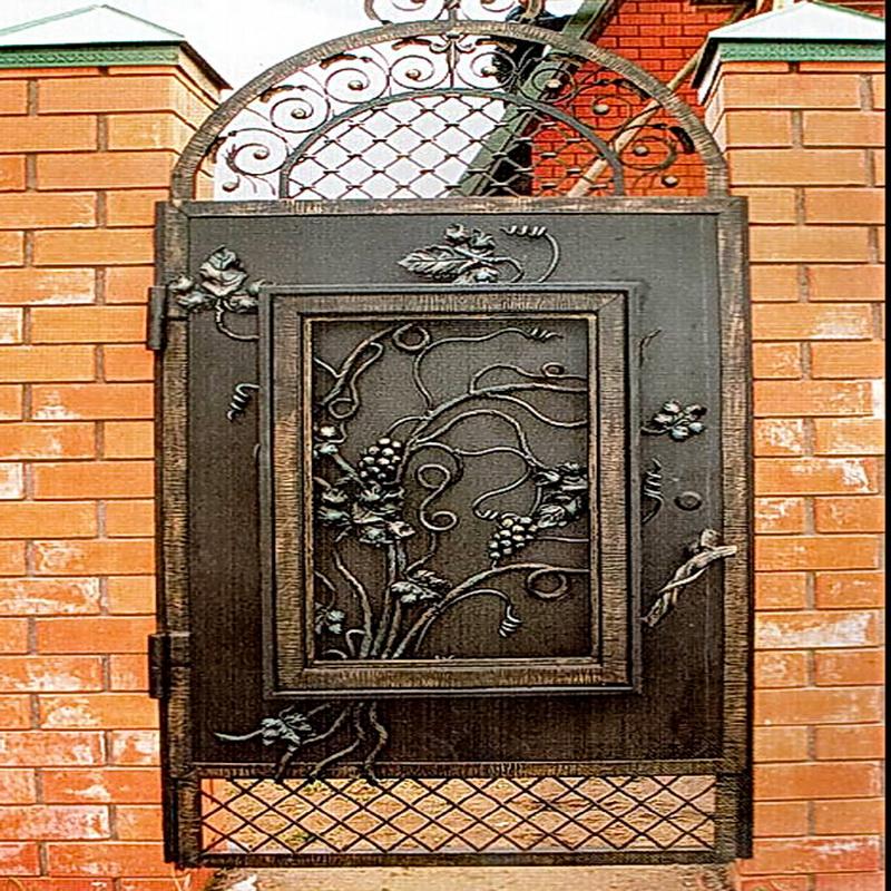 Кованая входная дверь N 2012