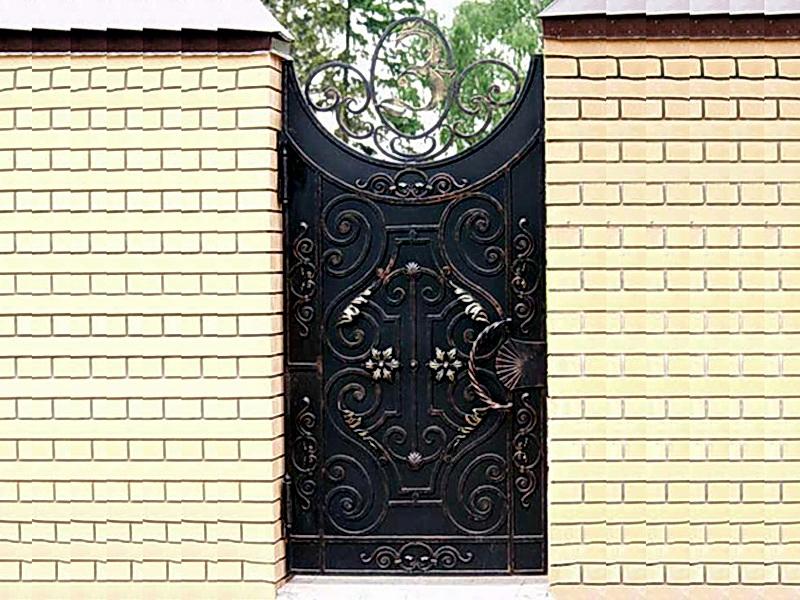 Кованая входная дверь N 2021