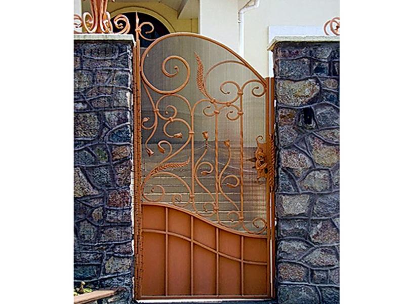 Кованая входная дверь N 2024