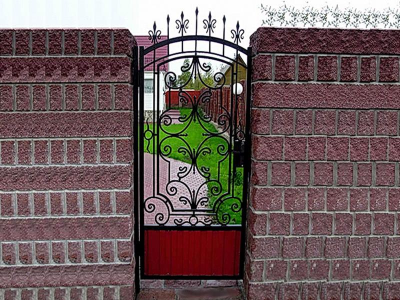 Кованая входная дверь N 2026