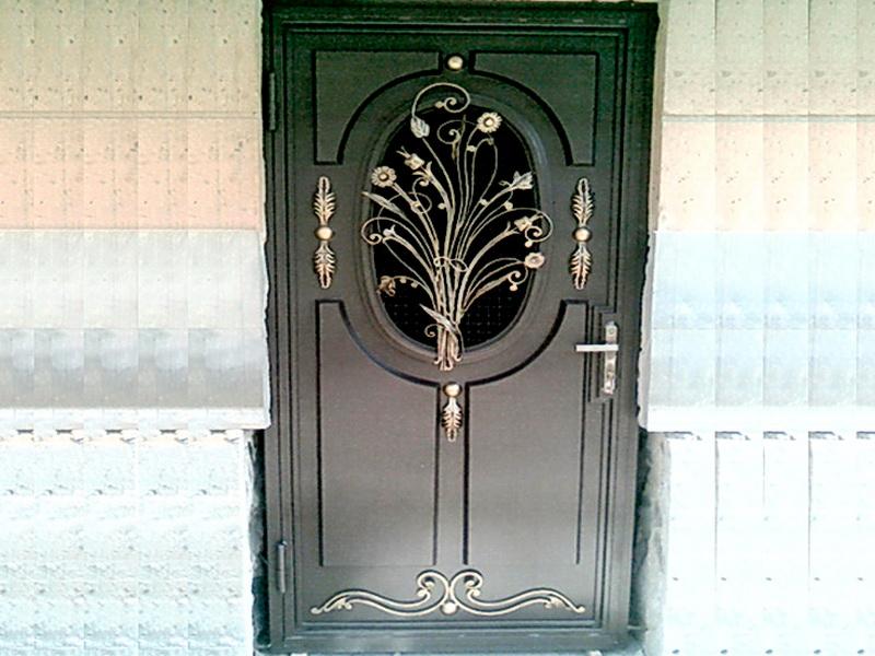 Кованая входная дверь N 2029
