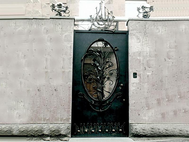 Кованая входная дверь N 2030