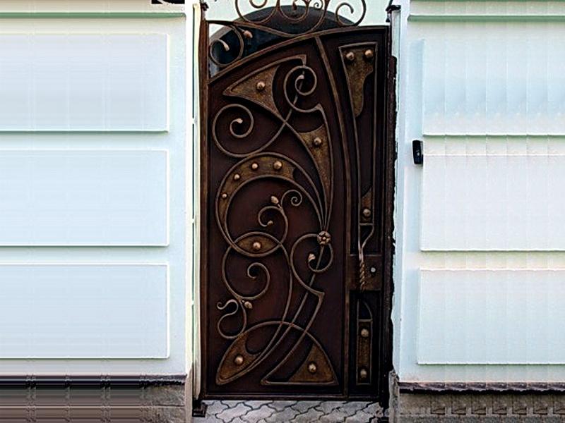 Кованая входная дверь N 2032