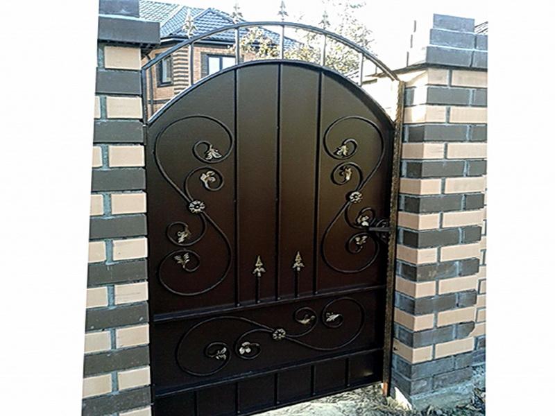 Кованая входная дверь N 2035