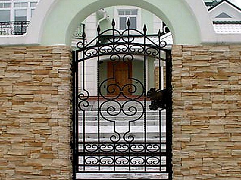 Кованая входная дверь N 2036
