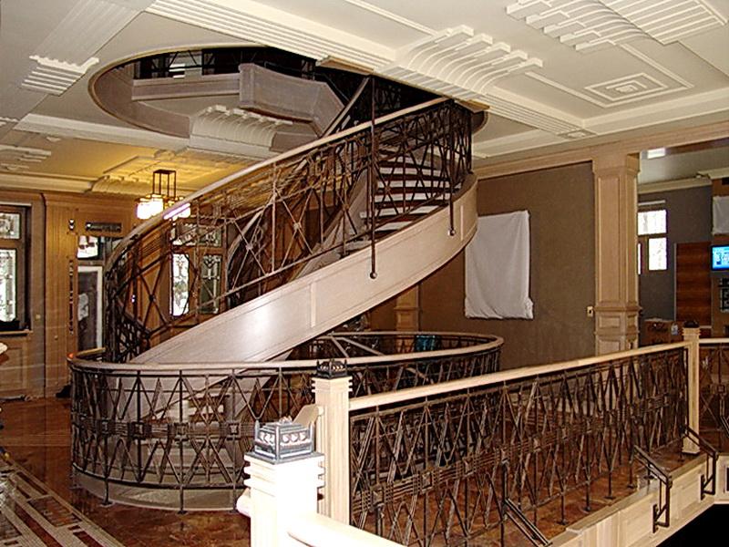 Кованые винтовые лестницы N 3-3503