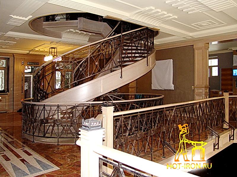 Кованые винтовые лестницы N 3-3509