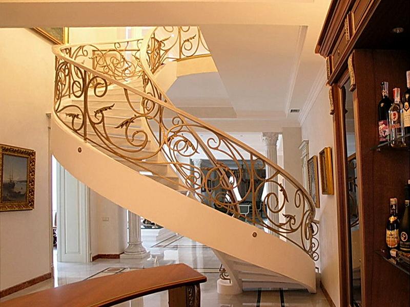 Кованые винтовые лестницы N 3-3511
