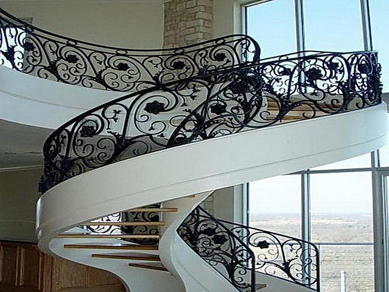 Кованые винтовые лестницы N 3-3512