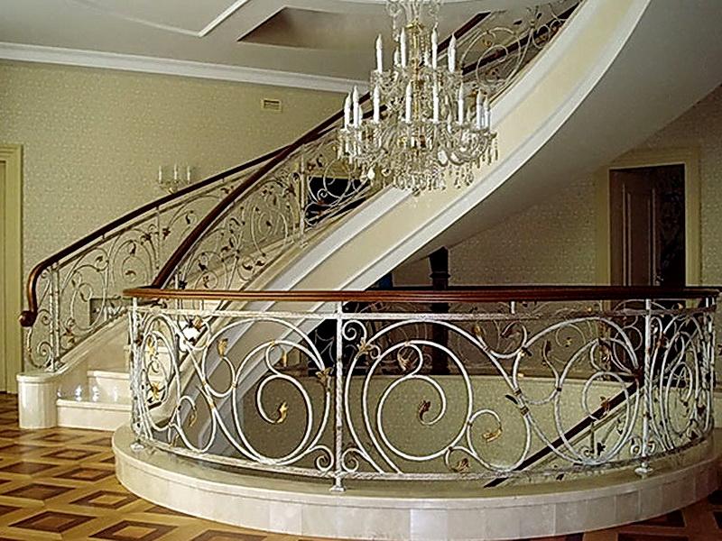 Кованые винтовые лестницы N 3-3514