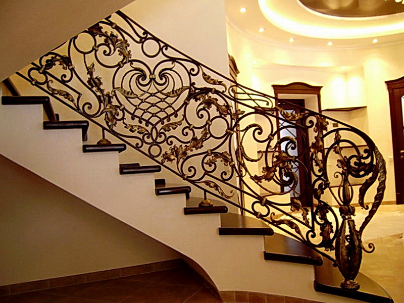 Кованые винтовые лестницы N 3-3517