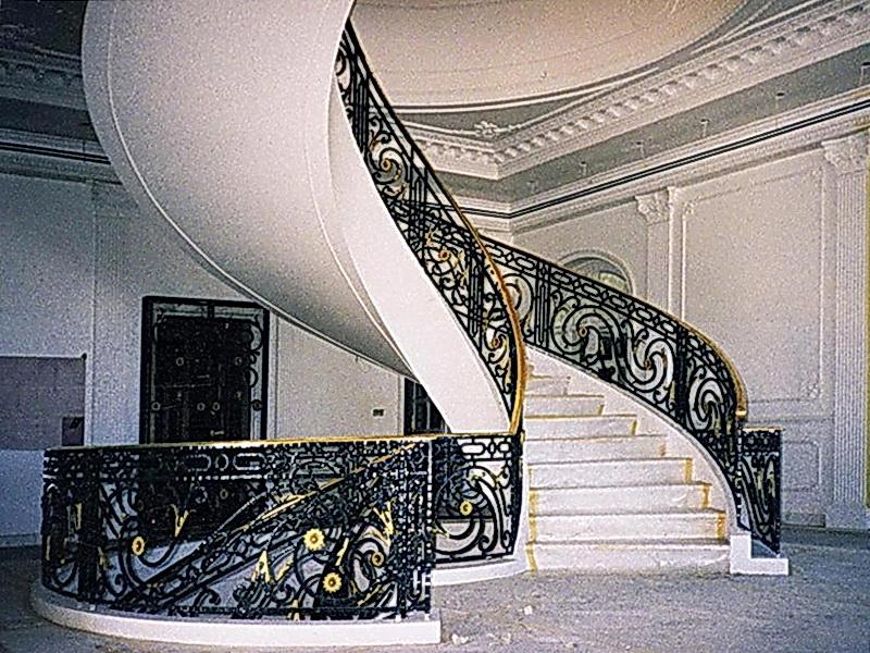 Кованые винтовые лестницы N 3-3519