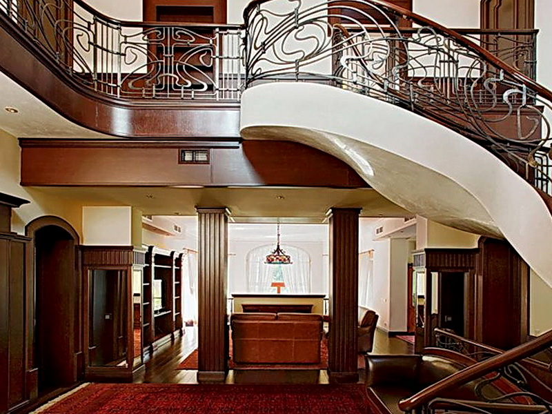 Кованые винтовые лестницы N 3-3522