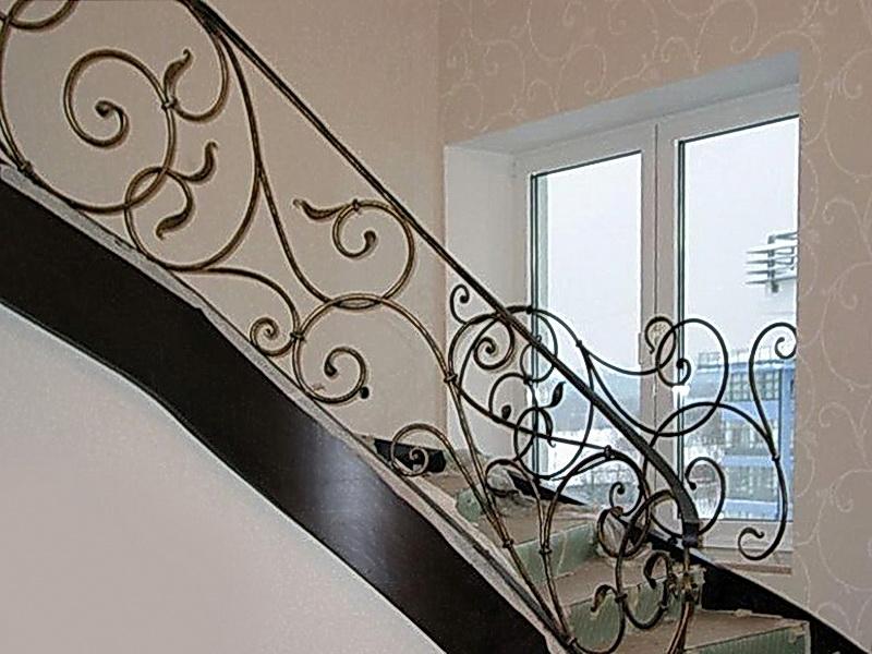 Кованые винтовые лестницы N 3-3523