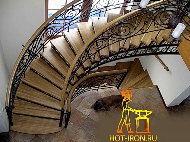 Кованые винтовые лестницы N 3-3526