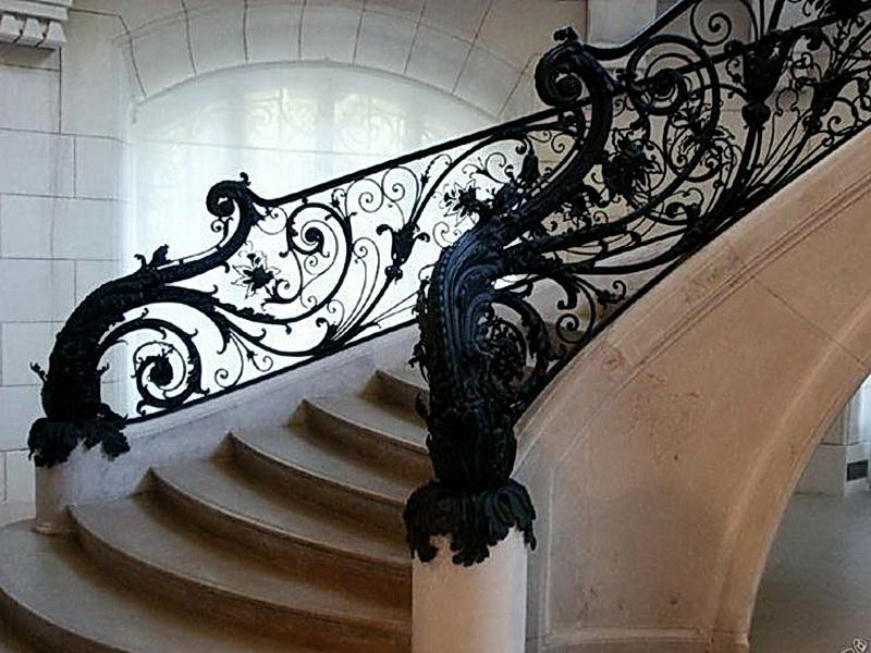 Кованые винтовые лестницы N 3-3527