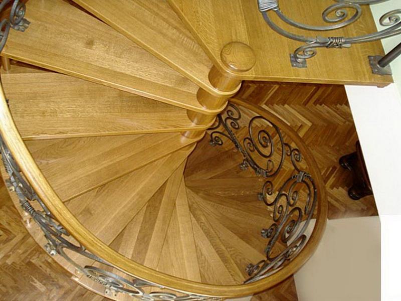 Кованые винтовые лестницы N 3-3528