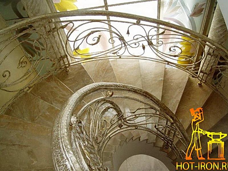 Кованые винтовые лестницы N 3-3529