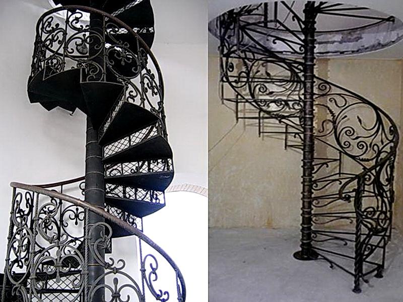 Кованые винтовые лестницы N 3-3531