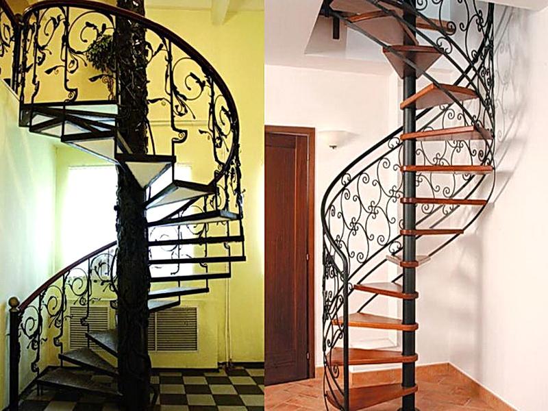 Кованые винтовые лестницы N 3-3532