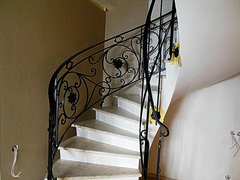 Кованые винтовые лестницы N 3-3535