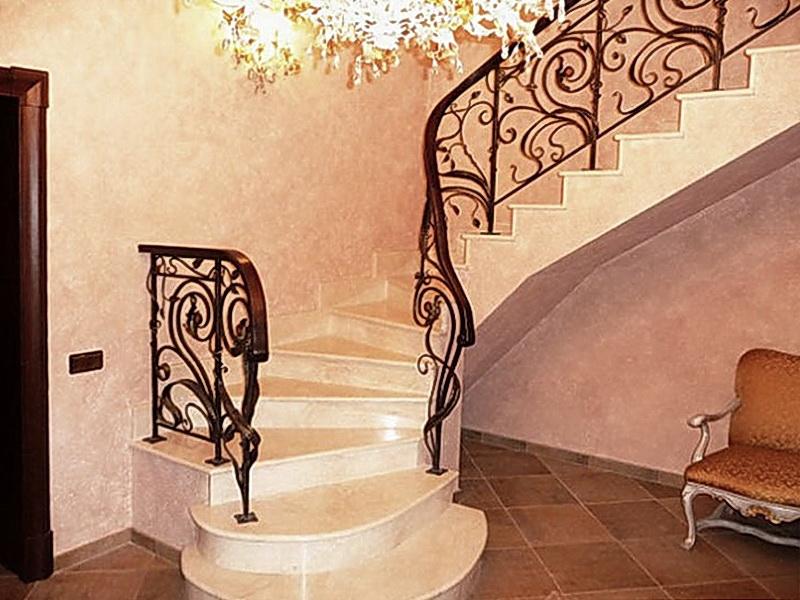 Кованые винтовые лестницы N 3-3536
